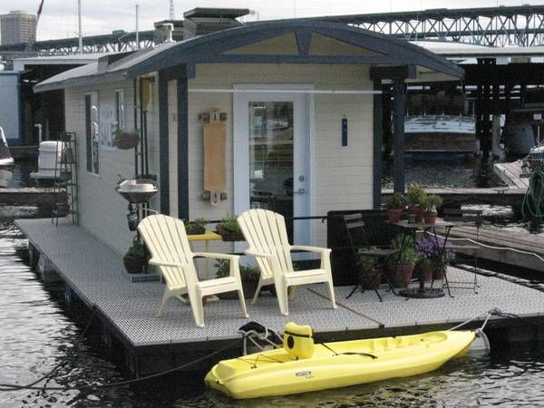Shanty Houseboat | Homes Of The Heart | Pinterest | Small Houseboats,  Floating House And House