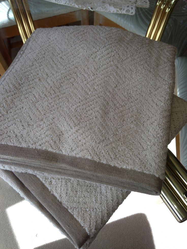 Linen and cotton luxurious towels from Portugal --a beautiful feel!