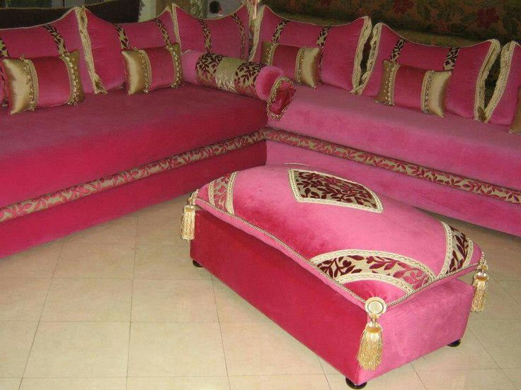 462 best Moroccan living room (salons marocains) images on Pinterest ...