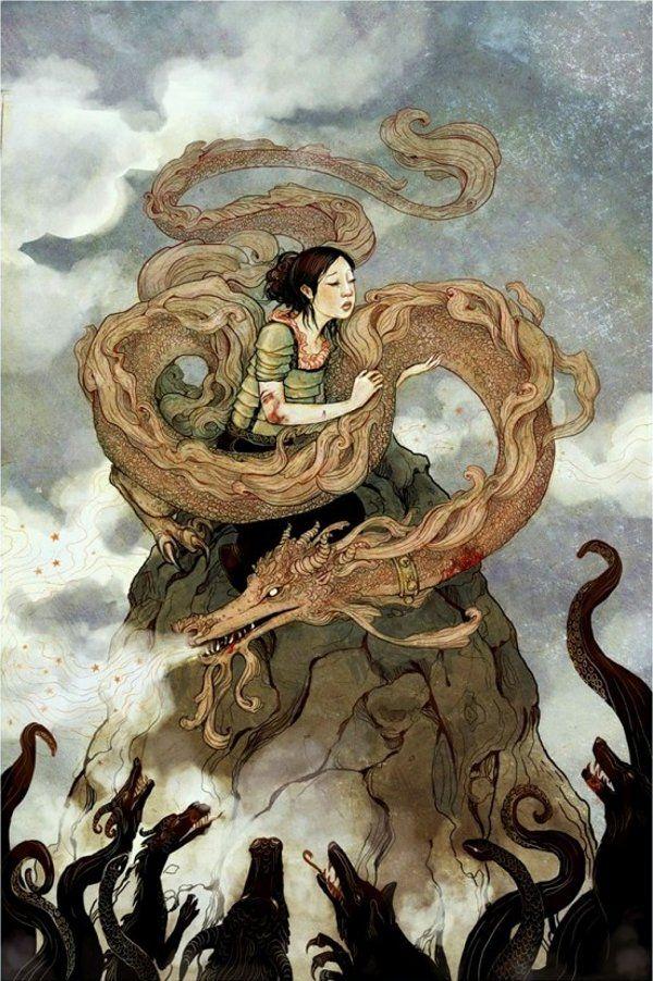 Erin Kelso's Fairy Tale Art