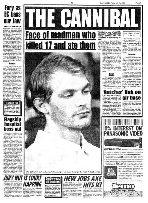 The Cannibal ~ Jeffrey Dahmer