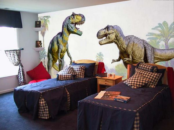 Large Dinosaurs Wall Murals Bedroom  Little man would never go to sleep he  would. 17 Best ideas about Wall Murals Bedroom on Pinterest   Forest
