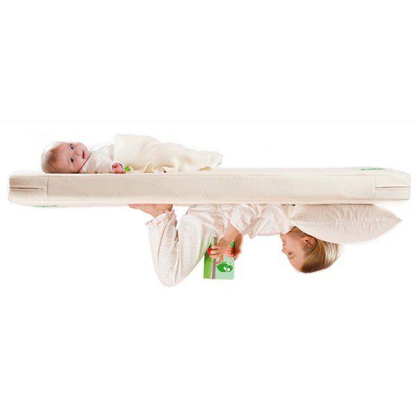Twist Natural Cot Bed Mattress 70x140cm The Little Green Sheep