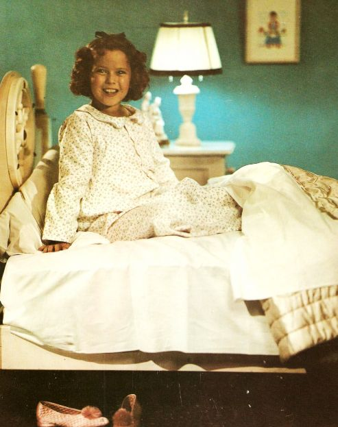 Rare Color Photograph of Shirley Temple, 1939.