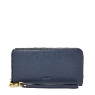 Damen Geldbörse - Emma RFID Large Zip Clutch