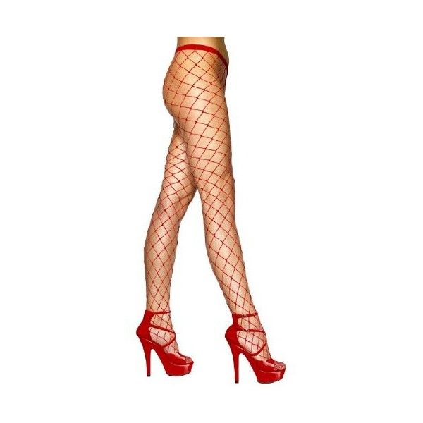 LARGE MESH FISHNET TIGHTS - RED (84 MXN) ❤ liked on Polyvore featuring intimates, hosiery, tights, fishnet tights, red pantyhose, red fishnet stockings, red fishnet tights and mesh stockings
