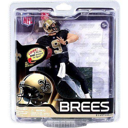 McFarlane NFL Sports Picks Series 31 Drew Brees Action Figure [Black Jersey], Multicolor