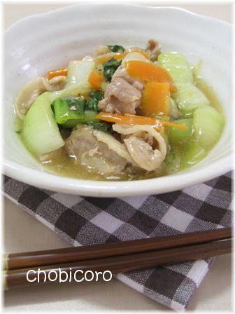 ちゃちゃっと簡単でも中華な1品。 とろみのついた塩ダレでご飯も進みます~♪
