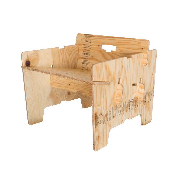 工具いらずの組み立て式一人用ソファ 「YOKA パネルファニチャーシリーズ PANEL SOFA」 | ジューシーガーデン【公式】