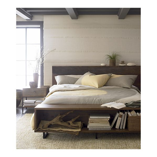 atwood bedroom collection crate and barrel