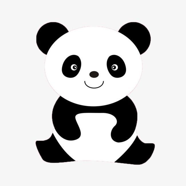 Un Panda Clipart Panda Panda Tresor National Fichier Png Et Psd Pour Le Telechargement Libre Happy Panda Panda Tshirt Cute Panda