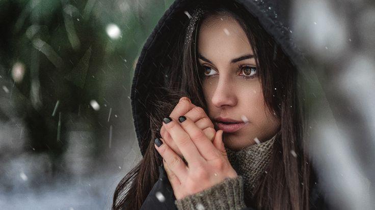 Winter portrait Ewa  More photos on website: http://fotograflubin.pl