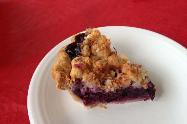 Make and share this Blueberry-Pineapple Pina Colada Pie recipe from Food.com.