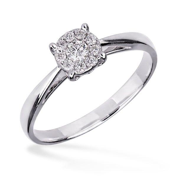 Inel de logodna cu diamant DIGV00775  Diamond engagement ring