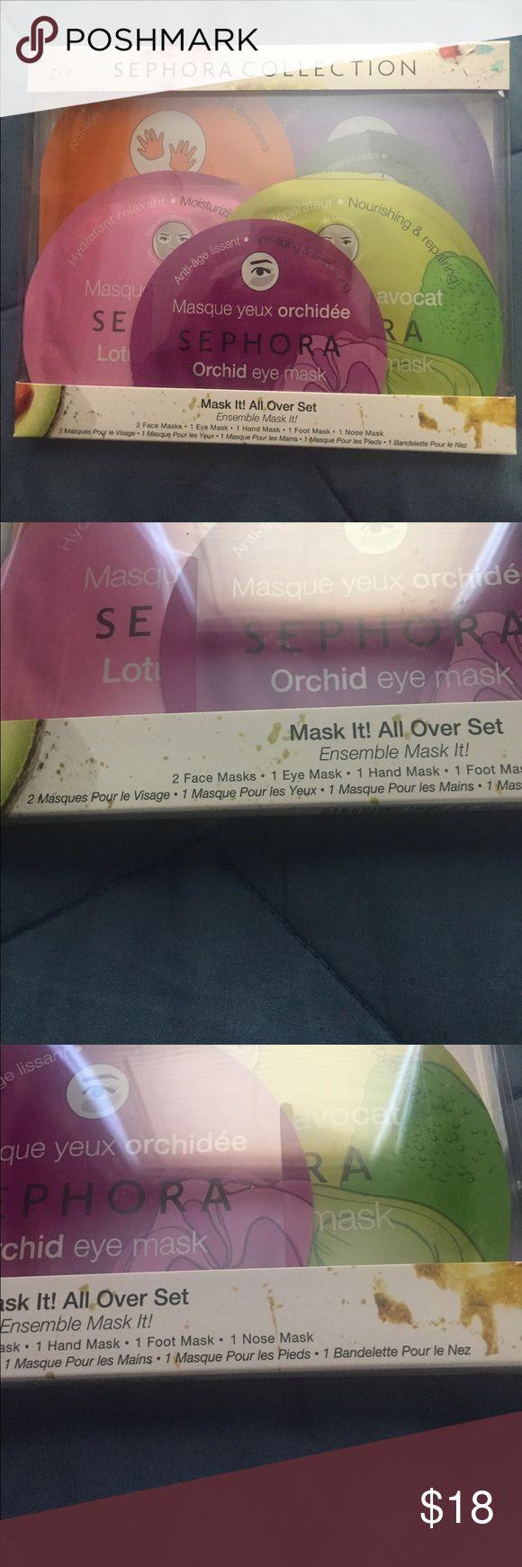 Sephora Mask Set No trades please. Sephora Makeup