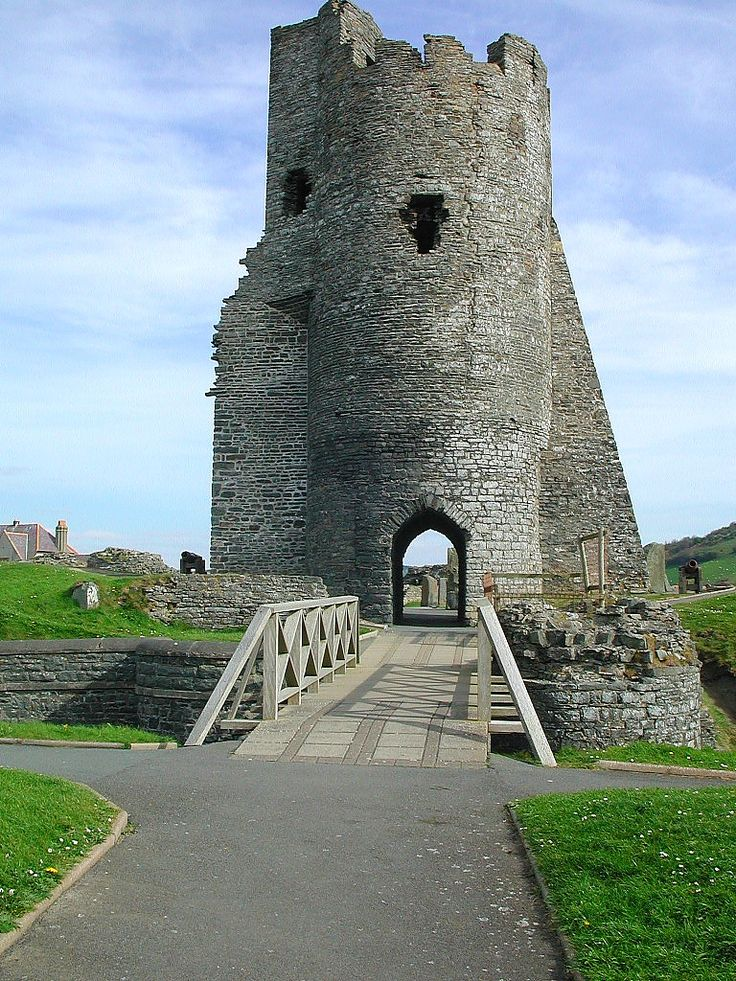 Aberystwyth Castle (Castell Aberystwyth) is an Edwardian fortress located in Aberystwyth, Ceredigion, Mid Wales that was built during the first Welsh War in the late 13th century.