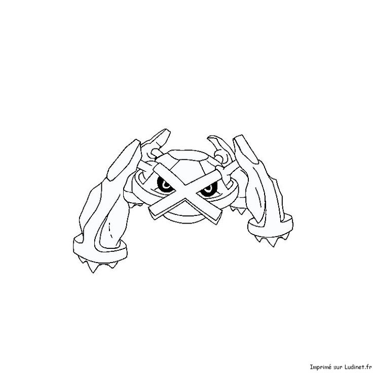 Metalosse Pokemon Coloring Coloring Pages Pokemon