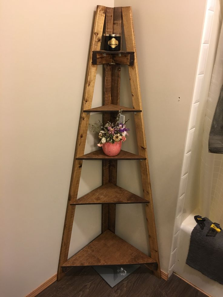 Best 20 Corner Ladder Shelf Ideas On Pinterest Ladder