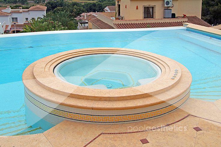 Pool aesthetics construcci n de piscinas de dise o con for Diseno de piscinas con jacuzzi