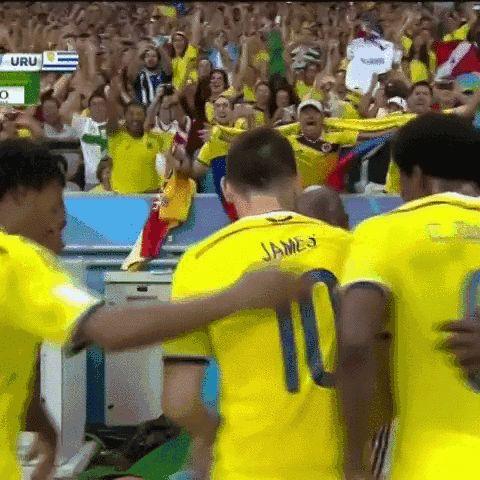 Colombia boys!