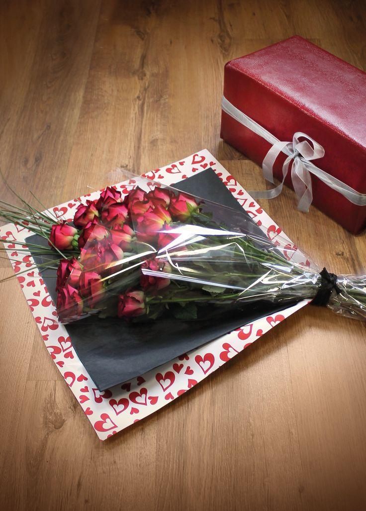 Atelier du fleuriste - Emballage tendrement spécial Saint Valentin