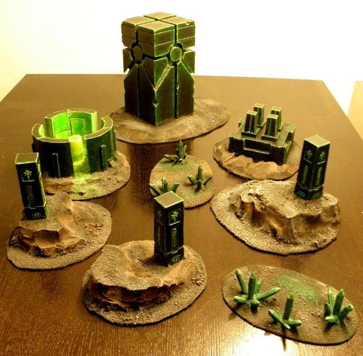 Crystal, Monolith, Necron Terrain, Necrons, Necrontyr, Terrain, Warhammer 40,000