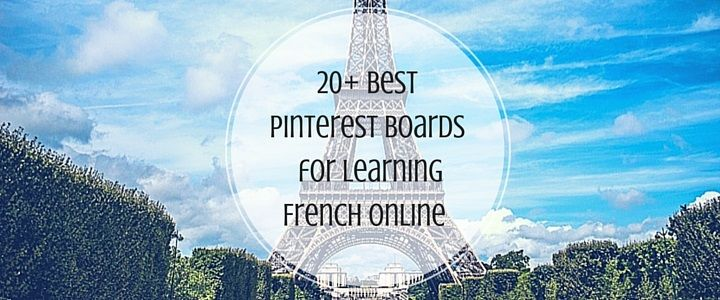 Do you want to learn French or supplement your current French lessons with some new exercises? Below are 20+ of the best Pinterest boards for learning French online… Chances are you're familiar with Pinterest; perhaps you even have an account. While great for... #frenchfun #frenchlinks #learnfrench