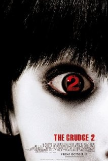 The Grudge 2 (2006), Columbia Pictures Corp., Ghost House Pictures, and Mandate Pictures with Sarah Michelle Gellar, Amber Tamblyn, Arielle Kebbel, and Edison Chen.