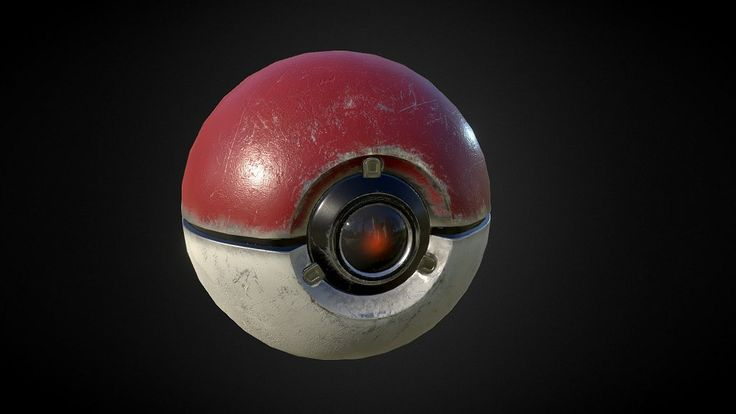 Texturing exercise of a pokeball, ~3h from starting modeling in Blender to exporting maps from Quixel. PBR Metalness workflow.<br>More info + textures: http://www.saphirestudio.at/wptest/pokeball-pbr-texturing-practice/<br>Blender/Photoshop/Quixel