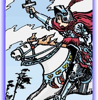 Knight of Swords - Minor Arcana | SunSigns.Org