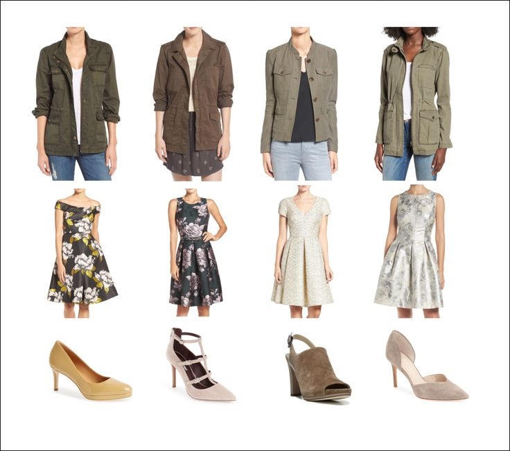 Army Jacket + Fancy Dress = Style YES! |  9 - 5 Style | What to wear to Work | Corporate Dressing | Nordstrom