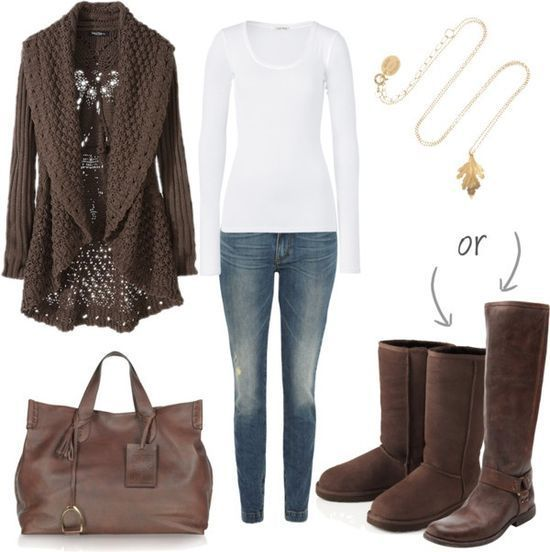 17 best images about Outfits with chocolate brown uggs on Pinterest