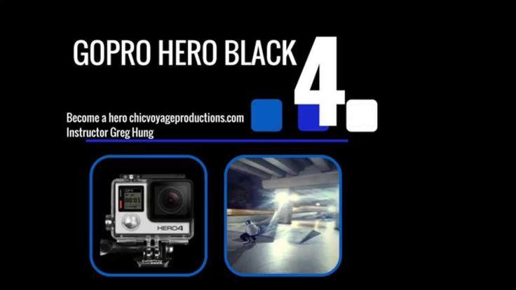 Go pro 4 Black - course introduction (On-line Video course)