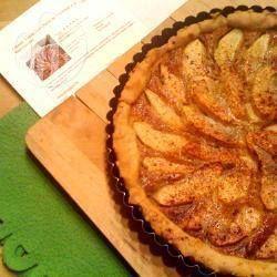 Фото рецепта: Французский яблочный пирог