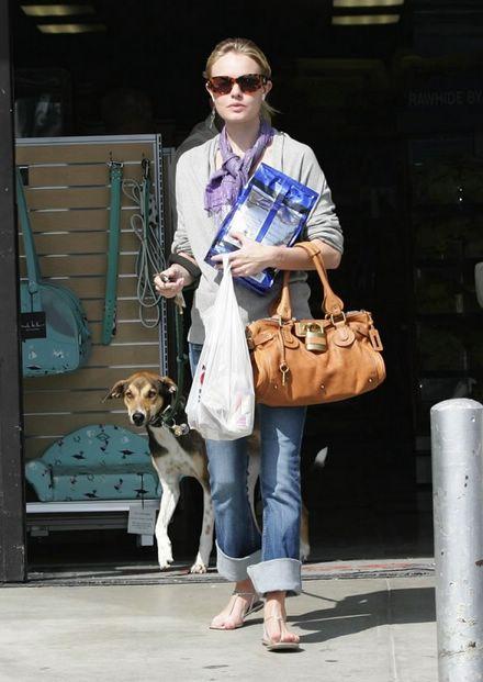 Kate Bosworth wearing the Chloe Paddington bag in tan | My Style ...