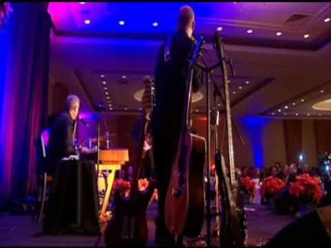 Prime Minister Stephen Harper sings Share The Land by The Guess Who