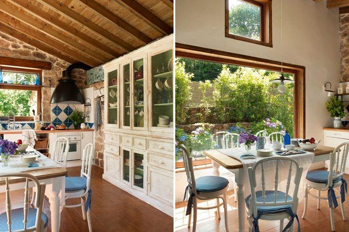 Restore Edilmis Harika Bir Ciftlik Evi ♥-Kalzeno Dekorasyon
