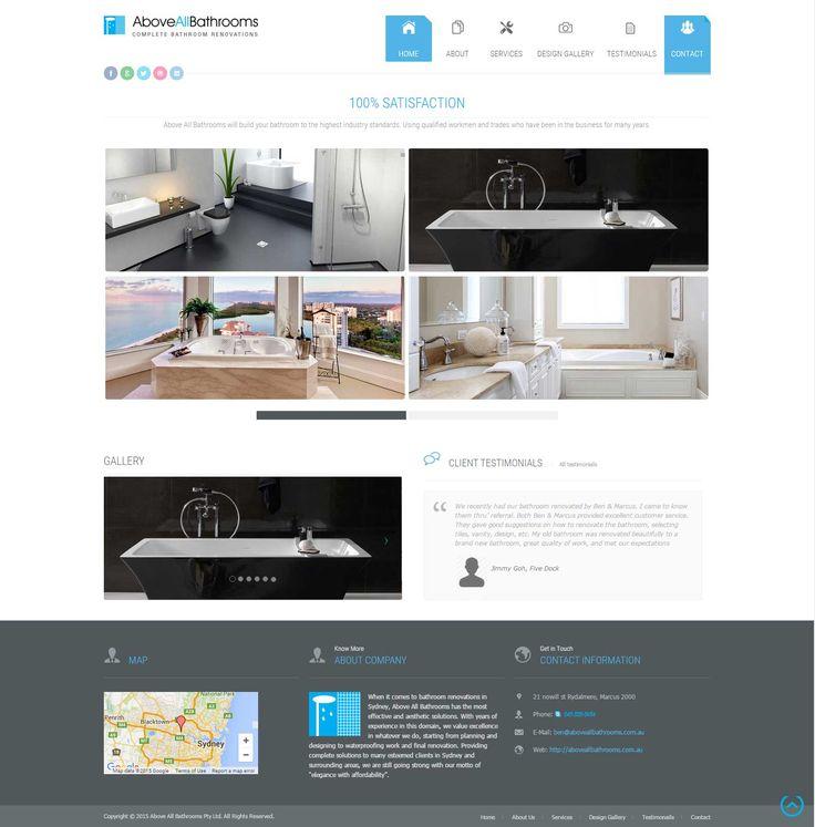 Website Template Home Remodel Remodeling Custom Design Residence Room  Kitchen Bathroom Bedroom Living Project House Apartment
