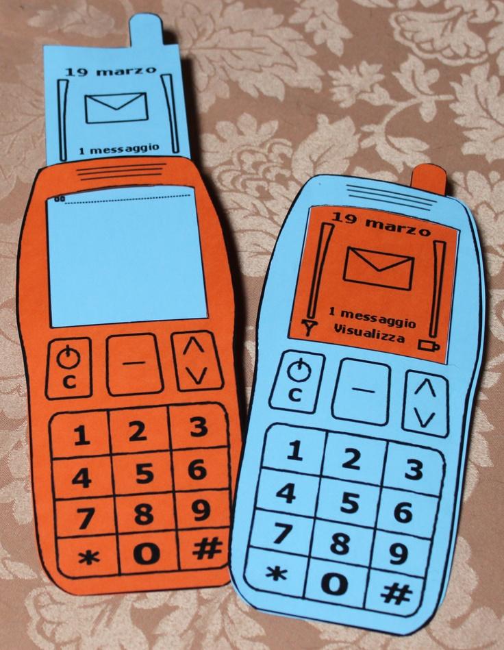biglietto telefonino,tirando l'antenna c'è il posto x il vostro messaggio