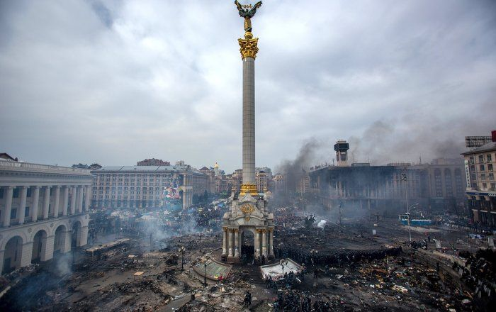 "Research conducted by Dr. Ivan Katchanovski on the Maidan ""Snipers' massacre"" of February 2014 has shown that the killings of protesters were organized by far right paramilitary groups and allied political parties, not the former government's Berkut riot police, as claimed by the current Kiev government and repeated by Western media."