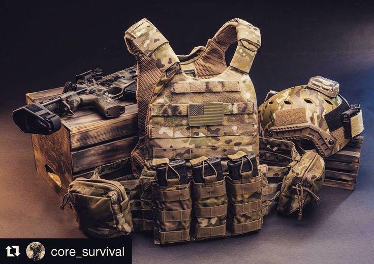 #Repost @core_survival, @straight8photo (@get_repost) ・・・ #gearshout #tactical #tacticalgear #tactical #weapons #platecarrier #helmet #multicam #тактическоеснаряжение #оружие #бронежилет #мультикам