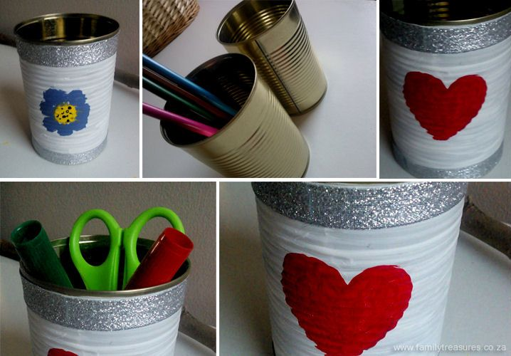 Upcycled Tin Can Project Idea