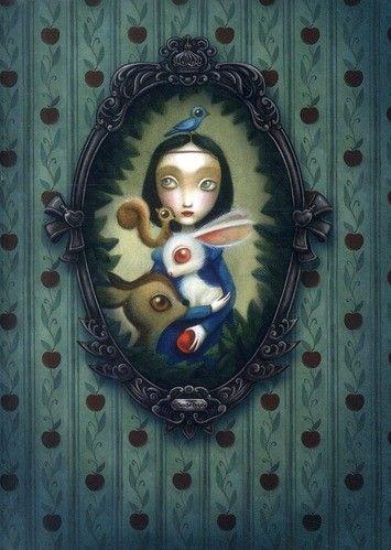 Snow White, by Benjamin Lacombe