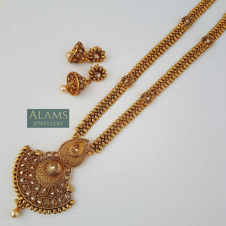 • *SOLD OUT* Long stonework pendant necklace. DM with enquiries. #alamsjewellers #vintage #indianjewellery #mala #tikka #kangaan #jhumar #bangles #gold #headpiece #mathapaati #asianbride #indianbride #abaya #henna #jewellery #jewelry #antique #bangladesh #india #pakistan #mua #htblogger #zukreat #hudabeauty #love #potd #nofilter #beautiful #fun