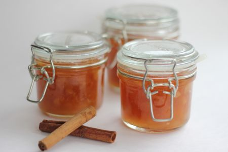 Apple & cinnamon jam - trying to recreate some we had on Ile de Re.