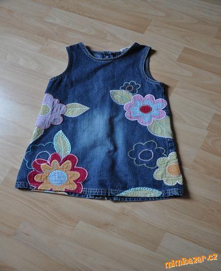 Džínové šaty šatovka