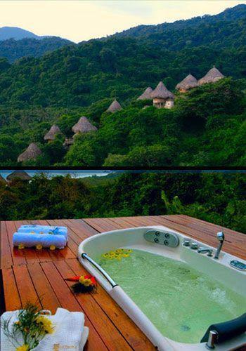 PARQUE TAYRONA El Parque Nacional Natural Tayrona se encuentra ubicado en la Región Caribe en Colombia. Su superficie hace parte del departamento de Mag... - Kimverlyn Giraldo - Google+