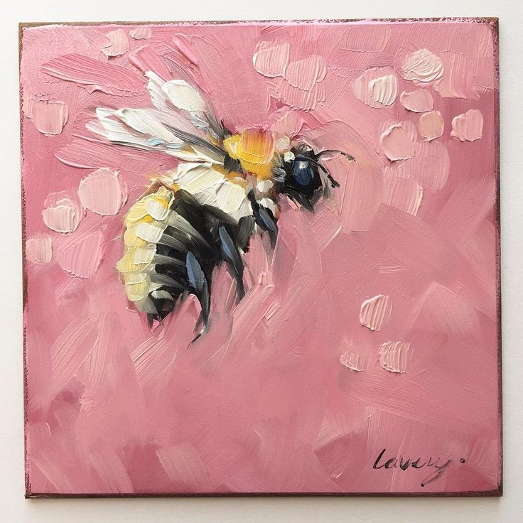 "Carder bee 4x4"" panel. They are fuzzy little bees. 