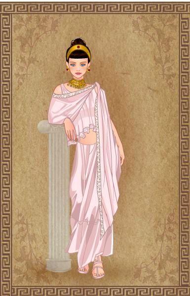 Penelope en estilo griego