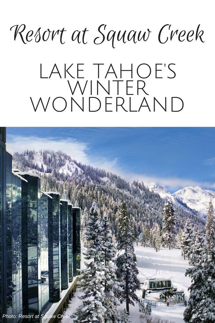 Lake Tahoe Winter Wallpaper Desktop Background: Resort At Squaw Creek: Lake Tahoe's Winter Wonderland